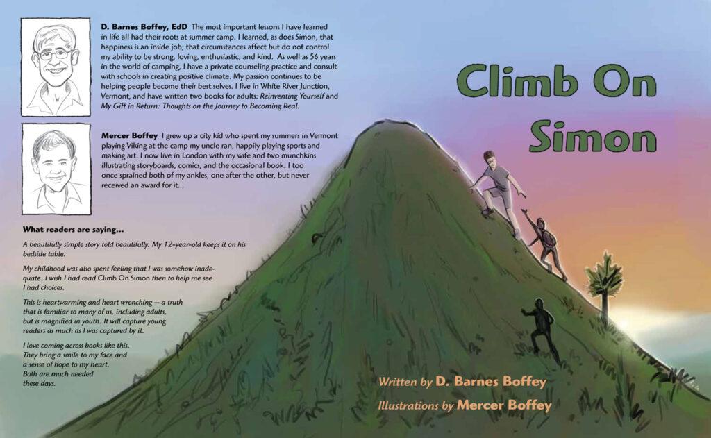Climb On Simon by D. Barnes Boffey